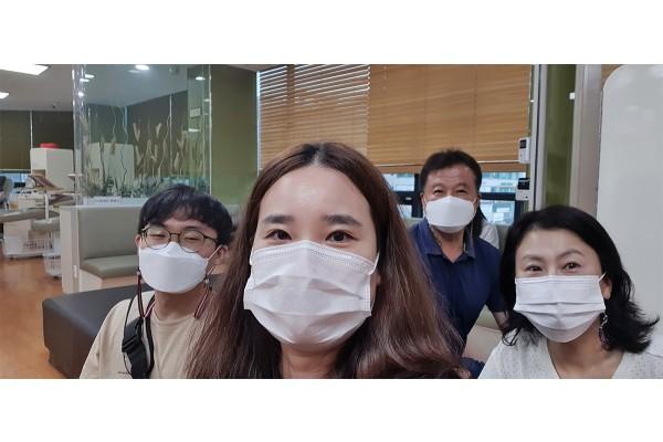 대전시민천문대 직원 헌혈 동참